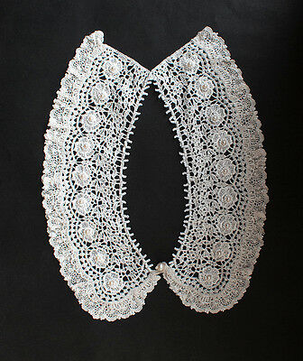collar,removable,lace,handmade,pearls,Cotton