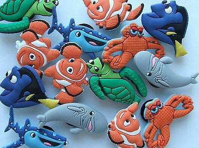 SHOE CHARMS - (K5)  inspired by FINDING DORY NEMO