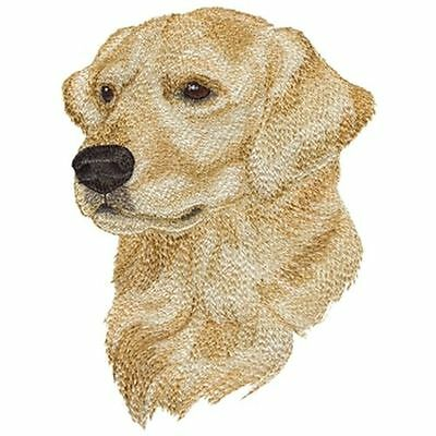 "Golden Retriever Dog Embroidered Patch 4.8""x 6.7"""