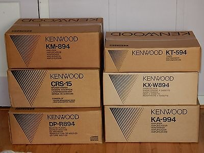 Kenwood Home Stereo Rack System New Local Pickup