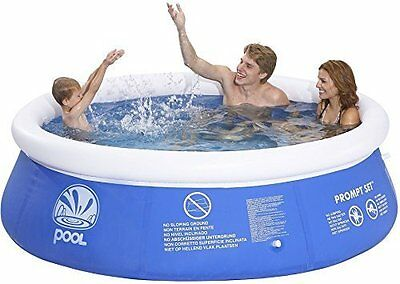 Wild 'n' Wet Quick Up Paddling Pool 8ft' 2.4m Fills once top ring inflated BNIB