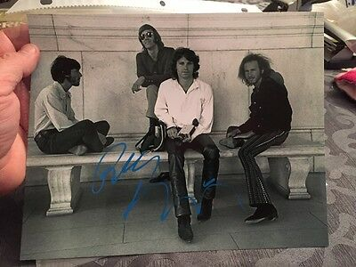 """Robby Kreiger Signed 8x10"""" Photo Autographed The Doors Jim Morrison"""