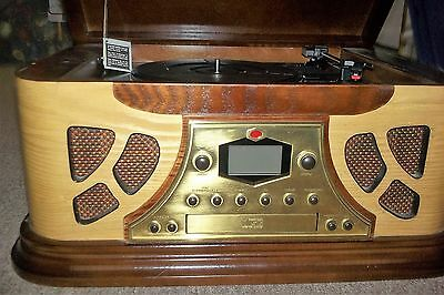 Spirt of St Louis AM Fm stereo CD Record Player combo used