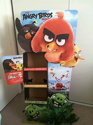 Angry Birds DVD Movie Display Retail Auction Finds 702