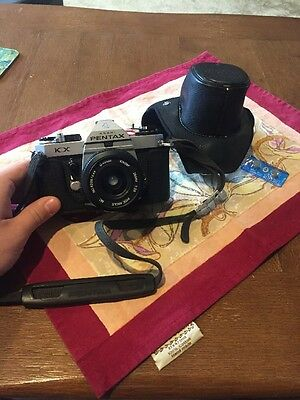 GREAT CONDITION Pentax Asahi KX Vintage Camera With Lens And Case