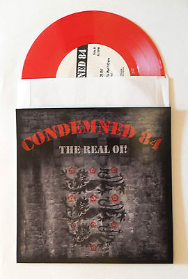 Condemned 84 - The Real Oi! EP - rotes Vinyl / red wax - Oi! Skinhead Punk 7''