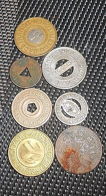 Nice Small Lot Of Transit Tokens