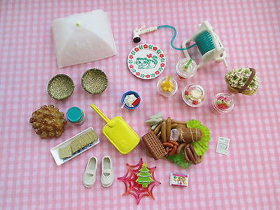 Re-Ment Girls Student Flowers Dishes School Lot NEW