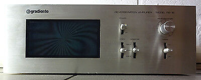 Gradiente RB-16 Reverberation Amplifier.  Rare Brazilian 1970s Spring Reverb.