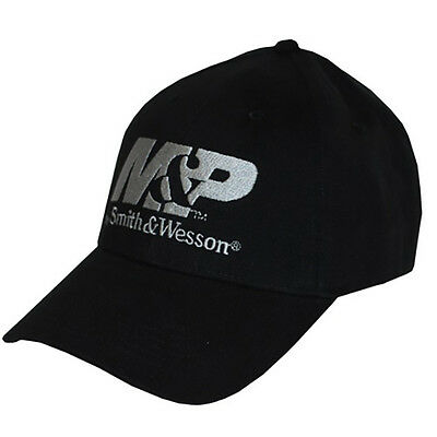 M&P by SMITH & WESSON *BLACK* TRADEMARK LOGO Twill HAT CAP *BRAND NEW* MP01