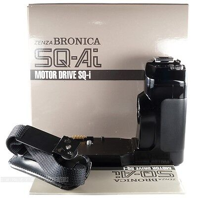 Rare Zenza BRONICA MOTOR DRIVE SQ-i for SQ-Ai Only ! Motor Winder & Flash Holder