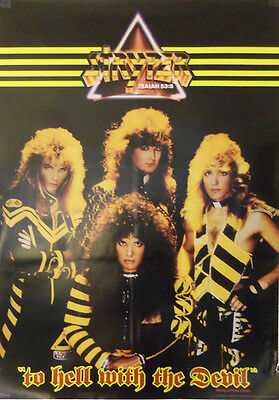 Four Vintage Stryper Posters - Originals from 1986-1990 *LOWER PRICE! New