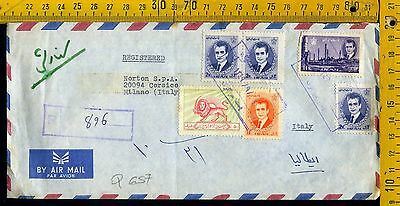 Cover busta Q 657 Iran to Italy