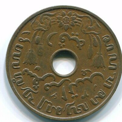 1937 Netherlands East Indies 1 Cent Bronze Colonial Coin S10257