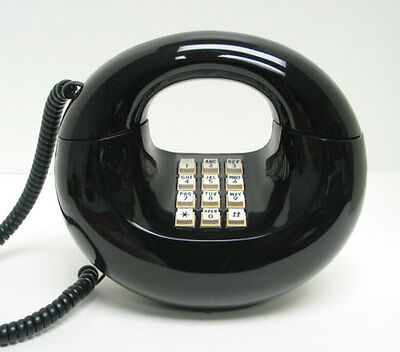 Western Electric Sculptura TouchTone Telephone in Black