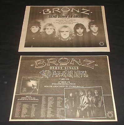 Bronz - Send Down An Angel (Vintage Nwobhm Collections) Max Bacon / Nightwing