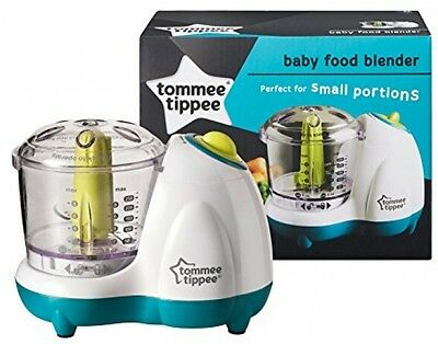Tommee Tippee Explora Baby Food Blender Processor Nice Maternity Gift Tomme New