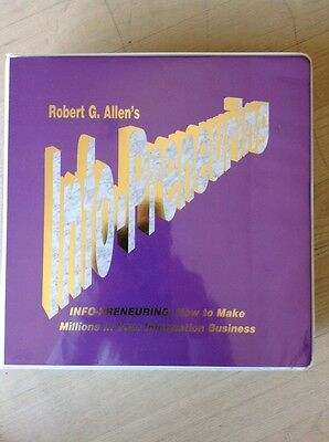 Real Estate INFO-PRENEURING Robert Allen 21 Audio CD Set and 4 VHS Video Tapes