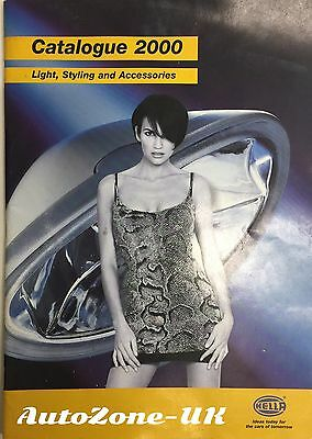 Hella Light Styling Accessories Catalogue 2000 67 Pages NOT STANDARD LIGHTING