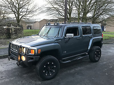 Hummer H3 3.7 Auto Grey Modified Lhd  Custom Immaculate Rust Free Fresh Import