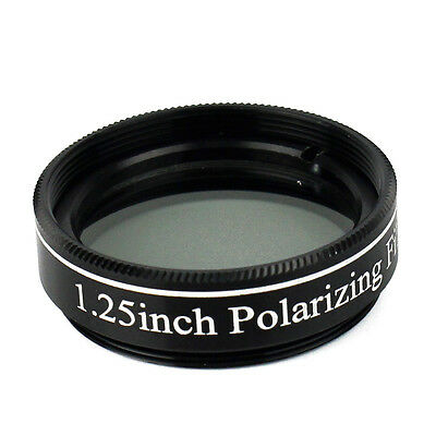 New 1.25'' Polarizing Filter No.3 for Telescopes & Eyepiece Increasing Contrast