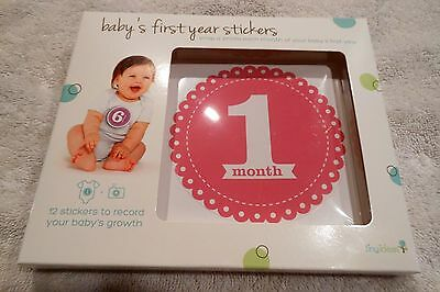 New Baby'S First Year Stickers 1-12 Months Belly Stickers For Photo Taking