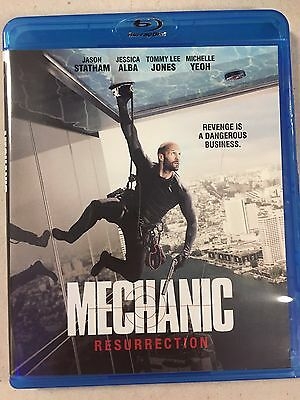 Mechanic Resurrection (Bluray) disc/case/cover only-no digital