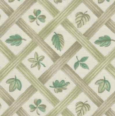 Longaberger Lattice Leaf Fabric Fat Quarter Yard - NEW