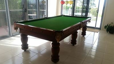 Snooker Pool Billiard Table by John Bishop 9.5 ft x 5ft