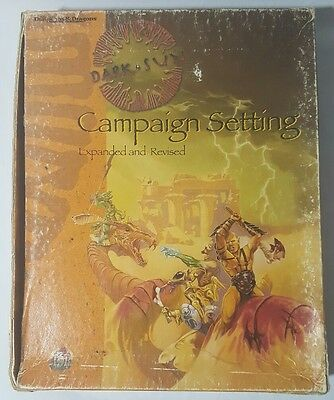 Dungeons & Dragons Dark Sun Campaign Setting Expanded & Revised #2438 CIB 1995