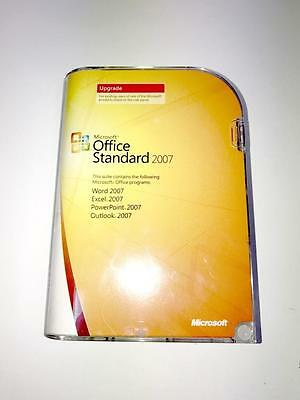 Microsoft Office standard 2007 retail UPGRADE VERSION with Office SBE 2003