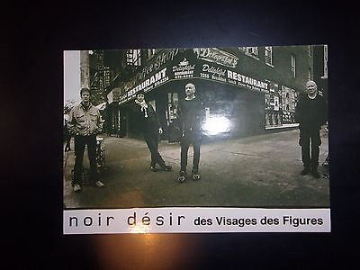 Carte postale collector NOIR DESIR - Rock - Excellent état