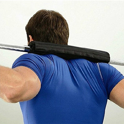 Barbell Pad Gel Supports Squat Bar Weight Lifting Pull Up Gripper Supporter #XJ