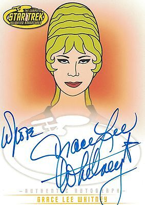Star Trek TOS Art&Images: A12 Grace Lee Whitney autograph