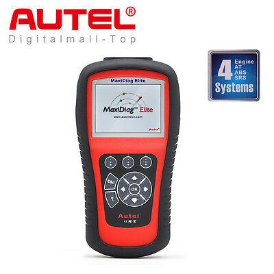 Autel MD802 4 System OBD2 Auto Diagnostic Tool Engine ABS Airbag Code Scanner