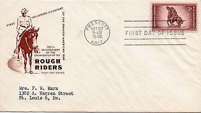 US FDC #973 Rough Riders, House Of Farnam (5404)