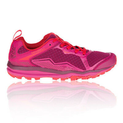 Merrell All Out Crush Light Womens Pink Purple Trail Walking Shoes Trainers