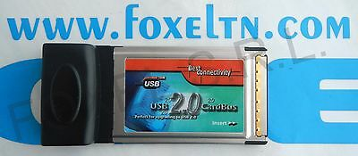 BEST CONNECTIVITY ADATTATORE CARD BUS PCMCIA a 4 PORTE USB2.0 - BCPUSB -