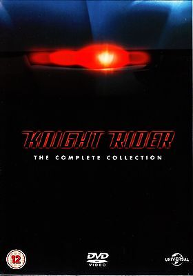 Knight Rider - The Complete TV Series Collection Box Set   New   Sealed   DVD
