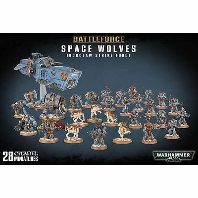 Warhammer Battleforce: Space Wolves Ironclaw Strike Force