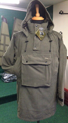 Shooting Stalking Hunting Fleece Hooded Smock Waterproof Breathable Bino Pocket.