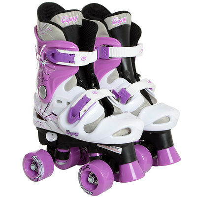 Osprey Adjustable Quad Boots Roller Skates Boys Girls