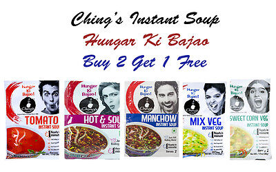 Ching's Secret, Chinese Instant Soup, Ready in 1 Minute, BUY 2 GET 1 FREE