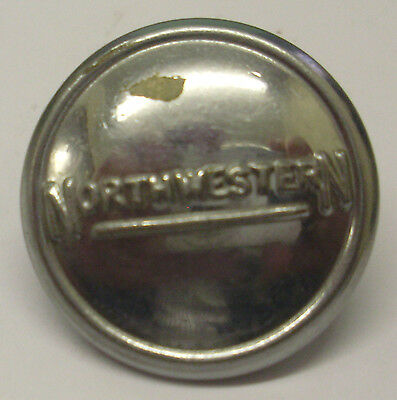 "Northwestern Buses 1"" Dia Uniform Button Used Condition As Shown In The Photo"