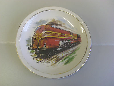 L.m.s. Coronation Scot Class King George V1 Signed Collectors Plate