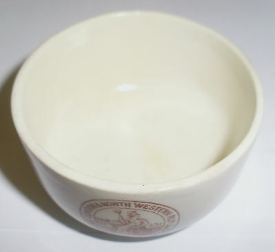 """L & N W R Dainty """"Mintons"""" Rare Sugar Bowl With Lovely Britania Gartered Crest"""