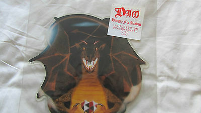 Dio - Hungry For Heaven - SHAPED PICTURE DISC 1985 Metal Rainbow Black Sabbath