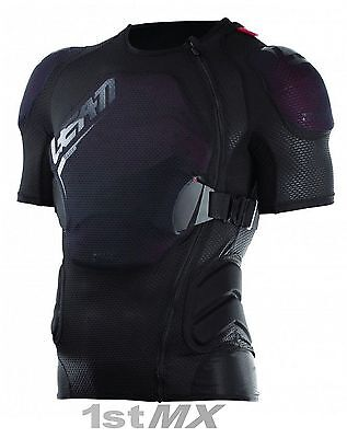 2017 Leatt 3DF Airfit Lite Body Tee Pressure Suit Adult Motocross Armour L/XL