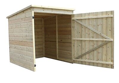 4X5 Mobility Scooter Storage Shed Shelter Pressure Treated Tongue & Groove