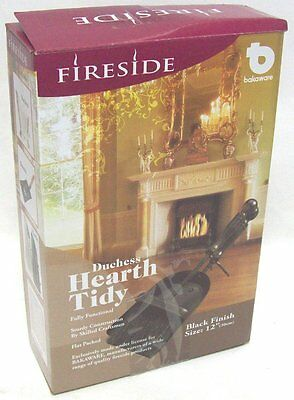 Fireside Duchess Hearth Fireplace Tidy Companion Set Dustpan Shovel & Brush 30cm